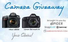New Latest Free DSLR Camera Giveaway – January 2015 | PickyBiz - http://pickybiz.com/new-latest-free-dslr-camera-giveaway-january-2015/