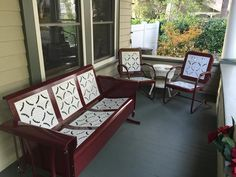 Vintage Metal Gliders,Old Fashioned Metal Chairs And Retro Metal Tables! Vintage Furniture Company - Old Vintage Metal Porch Gliders