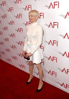 Michelle Williams Has Style Stockholm Syndrome at the AFI Awards | Tom + Lorenzo