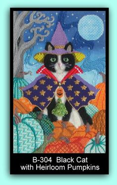 Sandy Arthur Needlepoint Stitch Guides - the wizard of paws.....