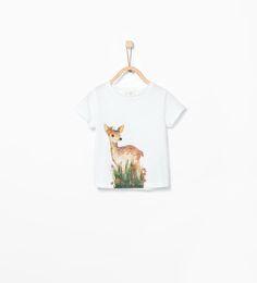 ZARA - NOWOŚCI - Koszulka w zwięrzęta