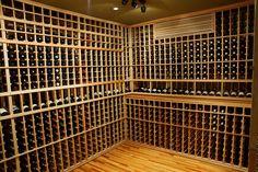 Great bedroom to cellar conversion