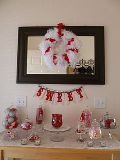 "Valentine's day ""sweet"" decor"