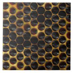 metal tile floors -