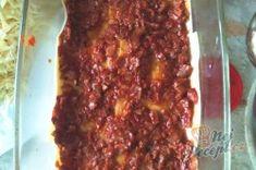 Lasagne s rajčaty, sýrem a šunkou Meatloaf, Lasagna