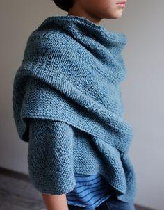 fichu bleu pattern by Orlane Sucche