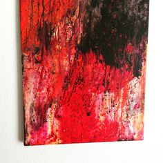Colorful Abstract art, Textured wall art, Bright Bold Abstract Summer art painting by CosmicCannibalArt on Etsy