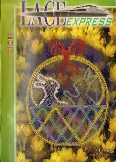 Lace Express 1998-04 (пасхальный выпуск)   35 фотокарточекъ