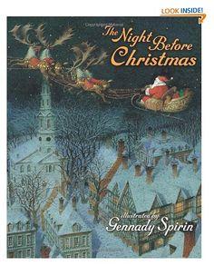The Night Before Christmas Clement Clarke Moore, Gennady Spirin 45 via https://www.bittopper.com/item/the-night-before-christmas-clement-clarke-moore-gennady/