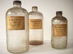 I want vintage apothecary jars for a shelf in the bathroom or the bookshelf or a shelf in the hallway