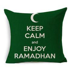 Ramadan & Eid Mubarak Pillow Covers {15 variants}