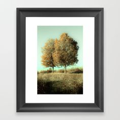 Autumn Trees Framed Art Print by #ARTbyJWP in #Society6 #artprints #buyart #treeart #landscape #walldeco #homedecor #framedart #framedprints -Choose from a variety of frame styles, colors and sizes to complement your favorite Society6 gallery, or fine art print - made ready to hang. Fine-crafted from solid woods, premium shatterproof acrylic protects the face of the art print, while an acid free dust cover on the back provides a custom finish. All framed art prints include wall hanging…