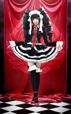 Find images and videos about anime, cosplay and danganronpa on We Heart It - the app to get lost in what you love. Kawaii Cosplay, Cosplay Anime, Epic Cosplay, Cute Cosplay, Amazing Cosplay, Cosplay Outfits, Cosplay Girls, Vocaloid Cosplay, Belle Cosplay