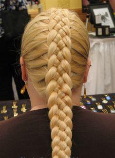 Braiding hairstyles