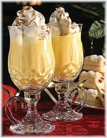 Christmas Eggnog Recipe #eggnog #winter #alcohol