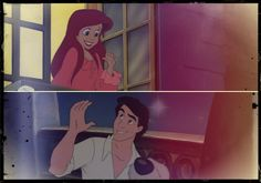 That moment when you see your crush and don't know what to say so you just smile awkwardly...leave it to Disney to make it cute lol:)