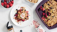 Powered Up Breakfast Crumble// epicure Brunch Menu, Brunch Recipes, Breakfast Recipes, Breakfast Ideas, Breakfast Club, Brunch Ideas, Healthy Meals To Cook, Healthy Cooking, Healthy Recipes