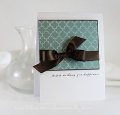 love this clean and simple card design  by Laurie at Soapbox Creations