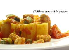 Un piatto siciliano, anzi proprio di Messina, la mia città, che ho rivisitato in chiave 'rapida' senza perderne però il gusto e i profumi. Chi è di Messina non può non conoscere la ghio…