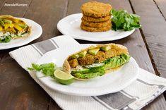 Sweet Potato Lentil Burgers | www.PancakeWarriors.com