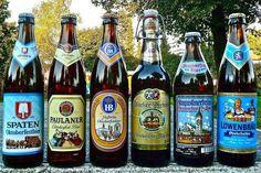 Le famose Birre dell'Oktoberfest di Monaco di Baviera #bier #beer #birra #oktoberfest #monacodibaviera #munich #münchen #germania #deutschland #germany #alemania #theresienwiese