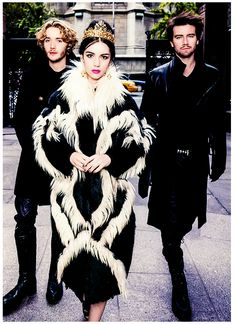 Reign | Love Triangle | Toby Regbo, Adelaide Kane and Torrance Coombs for Dolce & Gabbana