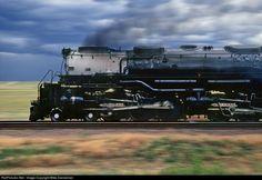 RailPictures.Net Photo: UP 3985 Union Pacific Steam 4-6-6-4 at Owasco, Nebraska by Mike Danneman