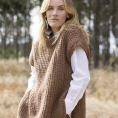 16 Precious autumn collection | Camilla Pihl Strikk Camilla, Sapphire, Vest, Turtle Neck, Autumn, Knitting, Sweaters, Hand Crafts, Collection