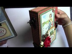 Graphic 45 Home Sweet Home Altered Box and Album - YouTube