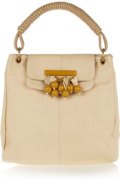 raffia tote by stella mccartney
