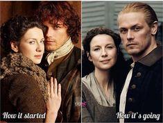 Outlander Season 1, Outlander Series, How Its Going, Jamie Fraser, Gorgeous Men, Seasons, Instagram, Snow, Fan