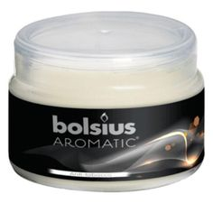 High quality, highly evocative European fragranced jar candles. Substantial frosted glass jars.  Bolsius have a very good name throughout Europe for quality and these candles are some of the best fragrances we have come across.