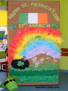 AT THE END OF THE RAINBOW - ST. PATRICK'S DAY IDEAS