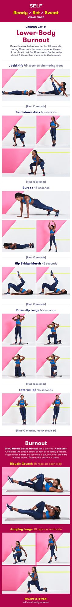 Lower-Body Burnout