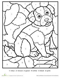 native american symbols bear coloring worksheetsnumber