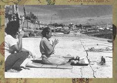 海の彼方のニライカナイを拝む石垣島の老女 豊穣な穀物だけでなく、この世の生活に必要な様々なものも、ニライカナイからもたらされたという信仰があった。 ( 吉成直樹『琉球民族の底流』古今書院 p8)1588夜『琉球の時代』高良倉吉|松岡正剛の千夜千冊