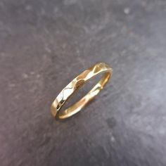 Items similar to mm Hammered Yellow Gold Band, solid 14 k gold, size on Etsy Wedding Band Engraving, Everyday Rings, Gold Bands, Wedding Bands, Rings For Men, Silver Rings, Jewels, Yellow, Handmade