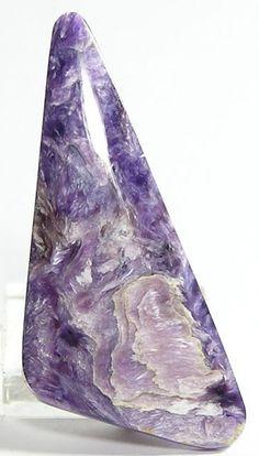Chatoyant Charoite Rare Purple Russian Stone 39 by FenderMinerals