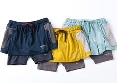 Nike X Undercover Gyakusou running skort!  I want that yellow one REAL BAD!!
