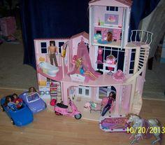 41 Best Barbie Dollhouses Pools Images Barbie Dolls Barbie