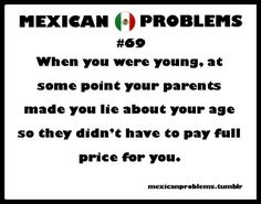 Lol not just a Mexican problem, Bolivian problem over here. Think it's all foreigners haha or just latinos