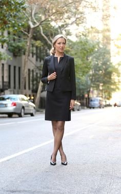 Classy Cubicle: Owning the interview Business Fashion, Office Fashion, Work Fashion, Fall Fashion, Business Formal Women, Business Style, Fashion Trends, Women's Fashion, Japan Fashion