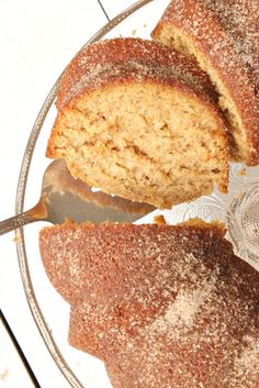 Blissful and Domestic - Creating a Beautiful Life on Less: Apple Cider Doughnut Cake