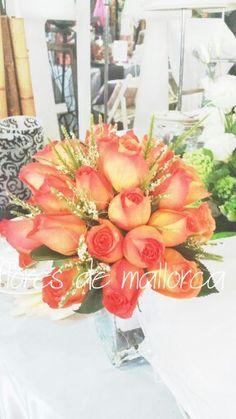 Orange flores de mallorca