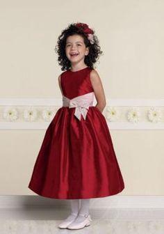 Red Poofy Flower Girl Dresses