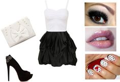 """Pretty girl"" by stefani-pedroso ❤ liked on Polyvore"