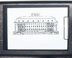 By Elin Östberg New projects, new buildings 🍂 #sketch #sketching #göteborg #gothenburg #artist #illustrate #illustrator #art #artwork #print #doodle #doodling #architecture #sweden #målning #rita #teckning #teckna #måla #illustrate #illustrator #art #artwork