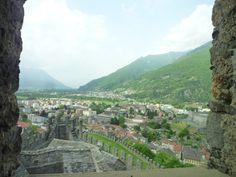 """""""Castello de Montebello"""", Bellinzona Ticino Swiss"""