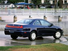 2001–02 Honda Accord Coupe North America '2000–02