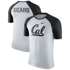 7d7be1a449 Cal Bears Nike Oatmeal Jersey Hook Tri-Blend Raglan T-Shirt - Heathered Gray